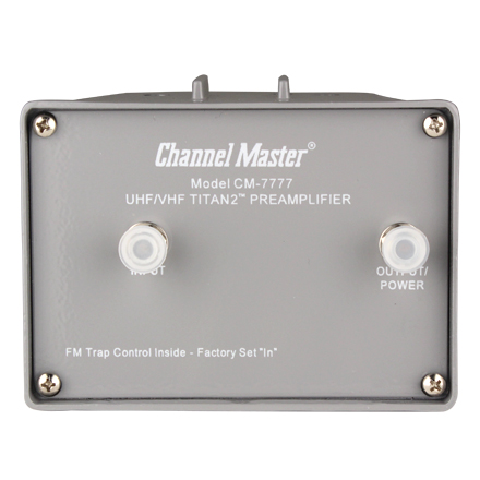Channel Master Model 7778 Titan2� Mast Mounted Pre-Amp 000000000007778