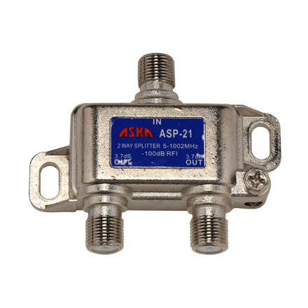 ASP21 D.A. Splitter, 2 way ASK1009