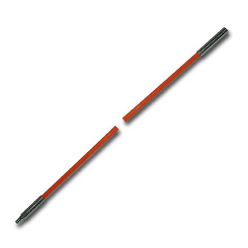 B.E.S. Fiberfish II Replacement Rod 6ft Orange, male to female BES210