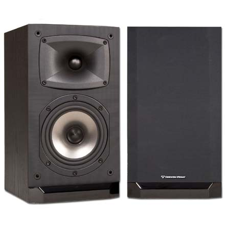 Cerwin-Vega CMX-5 5in 2-Way Bookshelf Speaker, pair, Includes 50ft of Speaker Wire Free! CER1080