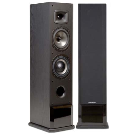 Cerwin-Vega CMX-26 6in 2.5-Way Floor Powered Speaker, Includes 50ft of Speaker Wire Free! CER1084