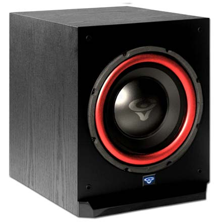 Cerwin-Vega CMX-10 10in Powered Subwoofer, Includes 50ft of Speaker Wire Free! CER1088