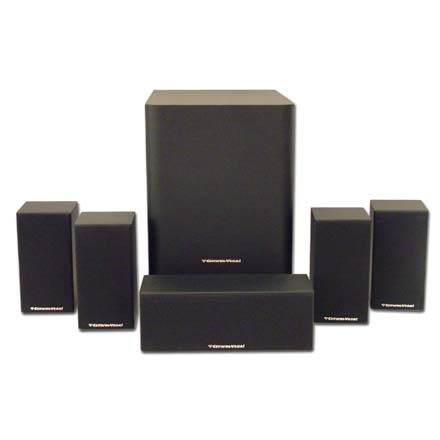 Cerwin-Vega CMX 5.1 Home Theater Package with 8in Subwoofer, Includes 50ft of Speaker Wire Free! CER1090