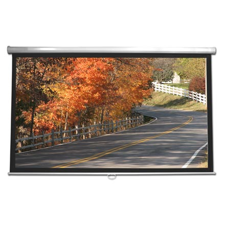 Choice Select 92in Gray Projection Screen 16:9 Ratio CHO2010