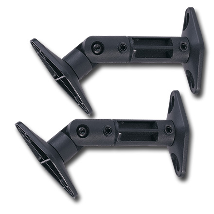 Choice Select Speaker Bracket, black, pair CHO5298PB