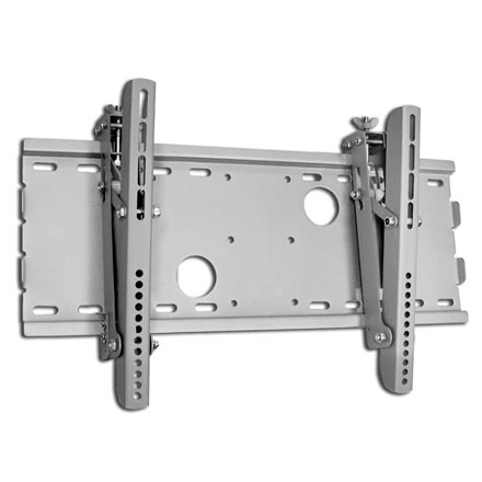 Choice Select LCD/Plasma TV Mount 23-37in 165lbs 15deg tilt, silver, Includes a Free 6ft HDMI Cable! CHO5303S