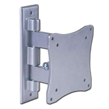 Choice Select Tilt/Swivel LCD/Plasma TV Mount for 10-23in screen, Silver, Includes a Free 6ft HDMI Cable! CHO5305S