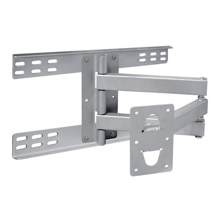 Choice Select 30-63in Articulating Wall Mount, Silver, Includes a Free 6ft HDMI Cable! CHO5309S
