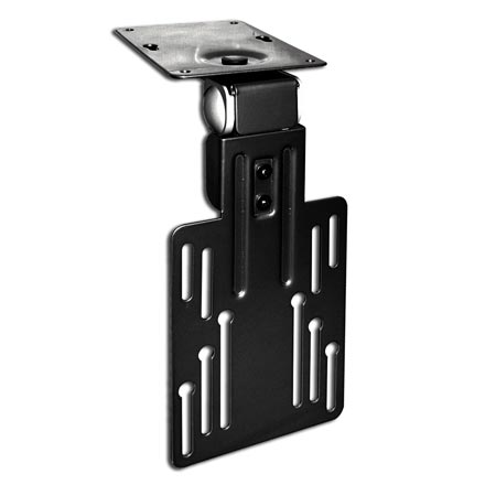 Choice Select Under Cabinet Mount for 10-15in LCD screens, black, Includes a Free 6ft HDMI Cable! CHO5311B