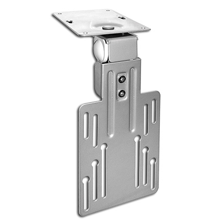 Choice Select Under Cabinet Mount for 10-15in LCD screens, silver, Includes a Free 6ft HDMI Cable! CHO5311S