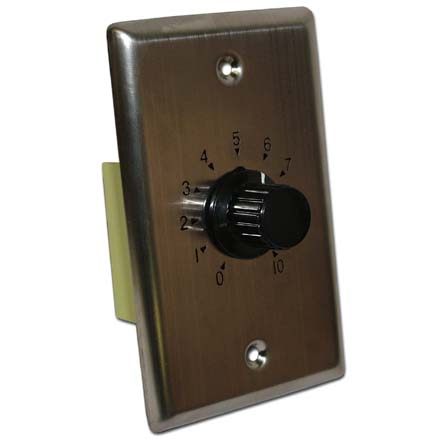 Choice Select 10-watt 70 Volt Volume Control with Metal Plate CHO6040