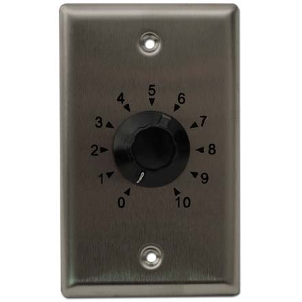 Choice Select 100-watt 70 Volt Volume Control with Metal Plate CHO6042