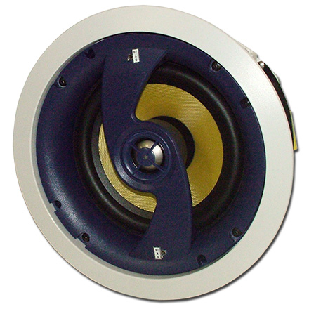 Choice Select Ultra 6.5in 2-way Ceiling Speakers with Fiberglass Woofer and Titanium tweeter, pair CHO6076