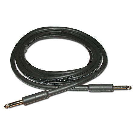 Choice Select 10ft 14ga Speaker Cable, 1/4 inch Plug to 1/4 inch Plug CHO7051