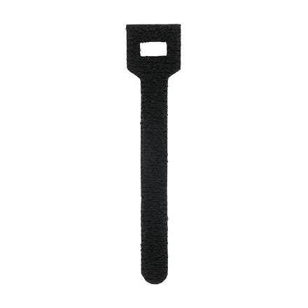 "4"" Velcro cable ties, Black CON1050B"