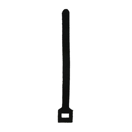 "6"" Velcro cable ties, Black CON1051B"