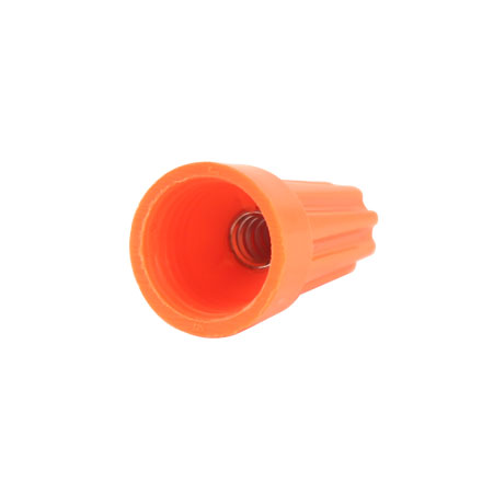 Orange Wire Nuts (qty 100) CON1062