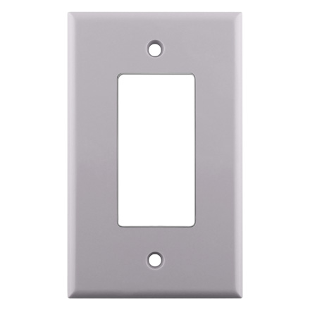 Single White Decora Plate CON3040W
