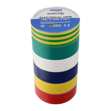 Multi Colored Electrical Tape CON3110MC
