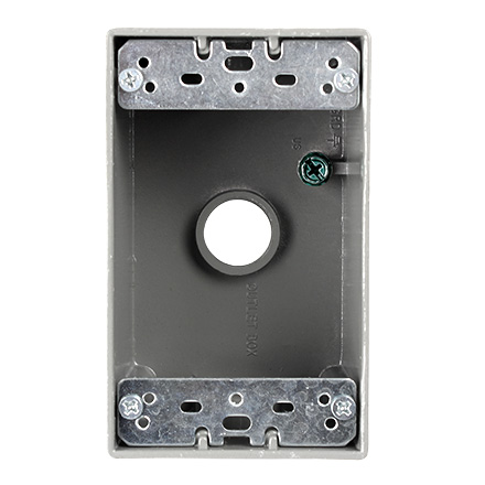 "weatherproof junction box 1/2"" CON5012WPB"