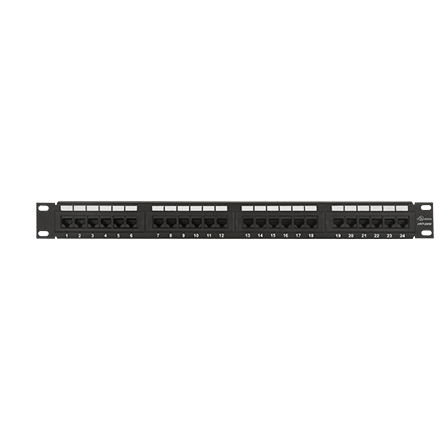 24 Port Cat 5e Patch Panel CON9008