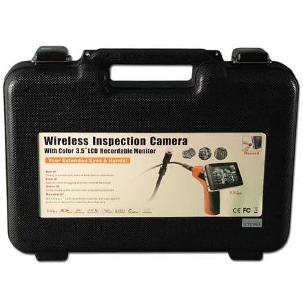 Cyclops Plastic Carrying Case for CYC1000  Inspection Camera CYC1001