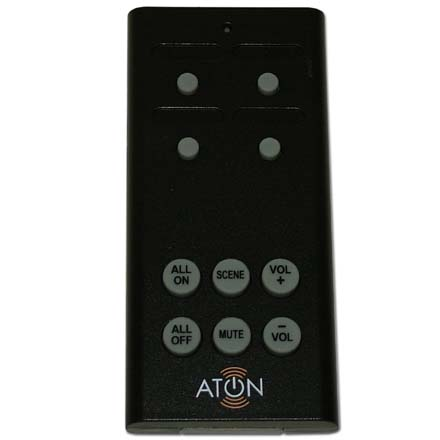 Aton 4 Room RF Remote Receiver Kit DLA4RKT
