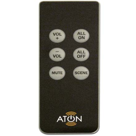 Aton Model DLAIRM Slim Line IR Remote for DLA Audio Router DLAIRM