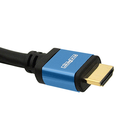 Elementhz 3 meter (9.84ft) HDMI Cable, Round Jacket, Blue End ELE5003M