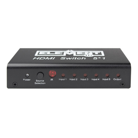 HDMI Switch 5 in / 1 Out ELE5X1SW
