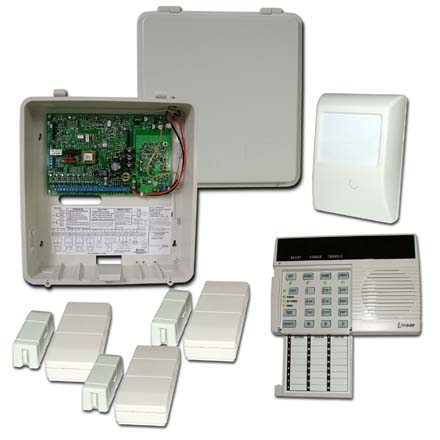 Linear Security DVS Kit 60 with Dual 824, three DXS32, one DXS54 LNS1011