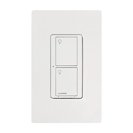 Lutron Wireless Switch >> Lutron Pd 5ws Dv Wh Caseta Switch Pro Wireless 5 Amp Lighting 3 Amp Fan Rf On Off Light Switch White