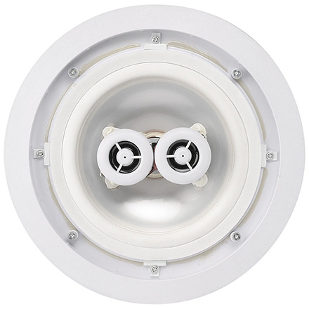 MTX Model H622AW 6.5in  2-Way Round In-Wall Speakers, Stereo Input,  All Weather, each MTX2203