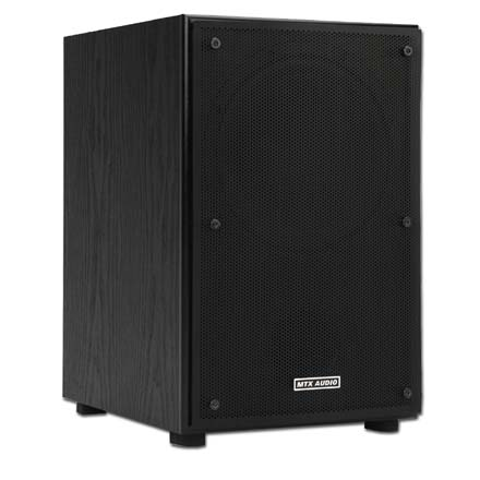 MTX Model CT8SW 8in 50W Powered Subwoofer, Wireless ready, each MTX2502
