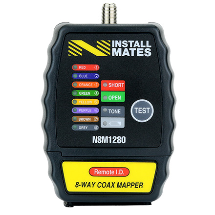 Installmates 8 way coax mapper NSM1280