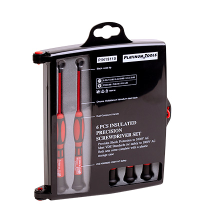 19110 Screwdriver 6 pc set PLA1047