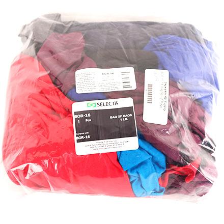 Bor 16 1lb Bag Box Of Rags Sel1111