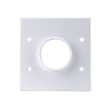 Skywalker Signature Series Dual Gang Wall Plate with 1 3/4in opening, white SKY05078WD