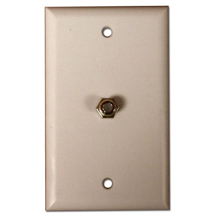 Skywalker Signature Series Wall Plate w/F-81, Ivory SKY05080I