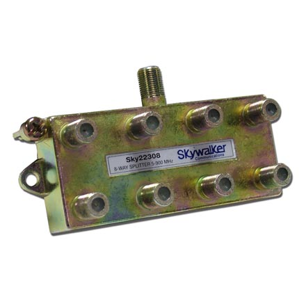 Skywalker Signature Series Splitter 5-900MHz, 8-Way SKY22308