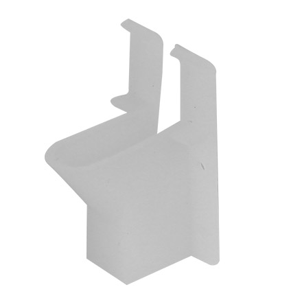 Skywalker Signature Series Horizontal Single Coax Siding Clips, qty100 SKY32906