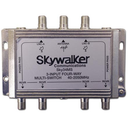 Skywalker Signature Series Multi Switch, 4-way SKY34MS