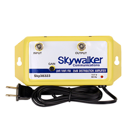 Skywalker Signature Series 25dB Amplifier VHF/UHF/FM w/variable gain SKY38323