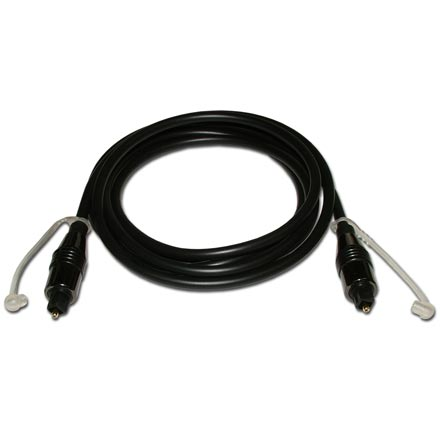 HQ Series Digital Optical Cable, 6ft Light Pulse Audio DVD SKY71066