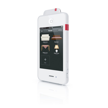 VooMote Zapper, smart white VOOM1001