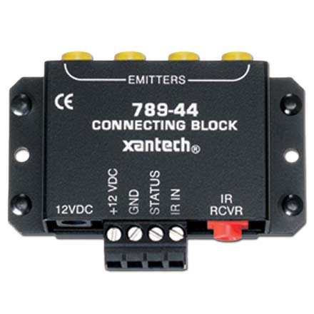 Xantech 789-44 One Zone Four Source Connecting Block