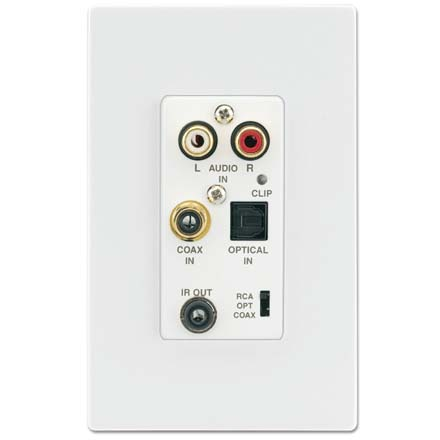 Xantech D5IP DDS, Local Source Input Wall Plate