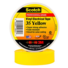 VINYL COLOR CODING TAPE YELLOW 3ME1007
