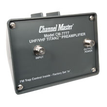 Channel Master Model 7777 Titan2� Mast Mounted Pre-Amp 000000000007777