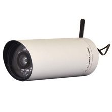 Alarm.com® ADC-V720W Outdoor Wireless IP Bullet Camera w/ Night Vision (White) ALM1004